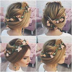 Updo #floral