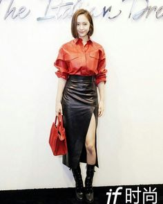 ( Fx ) 에프엑스 Krystal Jung # 크리스탈정 # ❤ Jung Soo Jung ❤ 정수정 ❤ : Milan Italy : Tod's Spring / Summer 18 Fashion Show @ VogueMe / Jiephot PAC Padiglione d'Arte Contemporanea