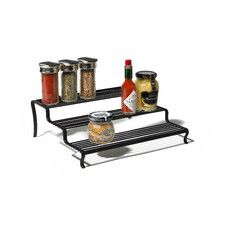 image of Real Simple® Sliding Under-Cabinet Organizer in Chrome ...