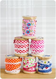 If only thread was still wrapped around and distributed to the consumer on wooden spools. The world would be a better place.