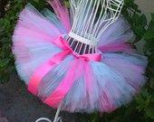 Hot Pink Zebra Fun Super Fluff Tutu- Great for First Birthdays, Weddings, Gifts, Holidays, Photographer Prop. $20.00, via Etsy.