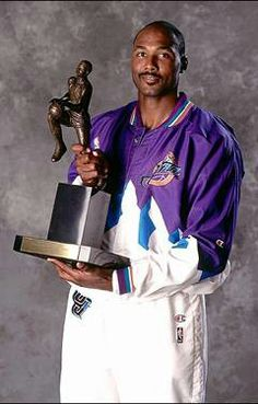 Karl Malone Basketball Awards, Jazz Basketball, Basketball Legends, Basketball Uniforms, Basketball Players, Basketball Quotes, Nba Mvps, Karl Malone, Different Sports