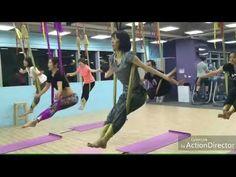 Aerial yoga 空中瑜珈課程記錄 - YouTube Aerial Hammock, Aerial Yoga, Low Gravity, Pilates, Health Fitness, Youtube, Friends, Tejido, Exercises