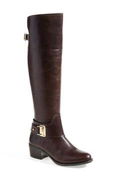 Vince Camuto 'Basira' Leather Riding Boot (Wide Calf) (Women) available at #Nordstrom