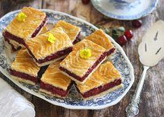 Juditka konyhája: ~ AZ IGAZI MEGGYES LINZER ~ Oreo, Waffles, French Toast, Breakfast, Dessert Ideas, Food, Morning Coffee, Essen, Waffle