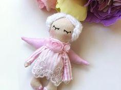 Шьем маленькую куколку «Рождественский ангелок» | Ярмарка Мастеров - ручная работа, handmade