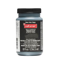 Multi-Surface Premium Chalky Acrylic Paint by Craft Smart, 8 oz.