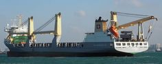 The G RONG original named the GLORIA operated by SAL heavy lift the vessel was renamed GUANG RONG
