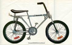 Kawasaki Bx 200 #bmx old school vintage BMX