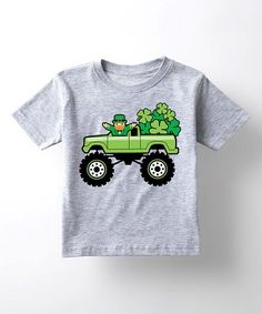 9abe34bb Loving this Athletic Heather Delivering Shamrocks Tee - Toddler & Kids  on #zulily!