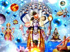 """""""All created beings have their source in these two natures. Of all that is material and all that is spiritual in this world, know for certain that I am both the origin and the dissolution."""" (Lord Krishna, Bhagavad-Gita). Click http://eternalreligion.org/calculation-of-time-from-the-atoms."""