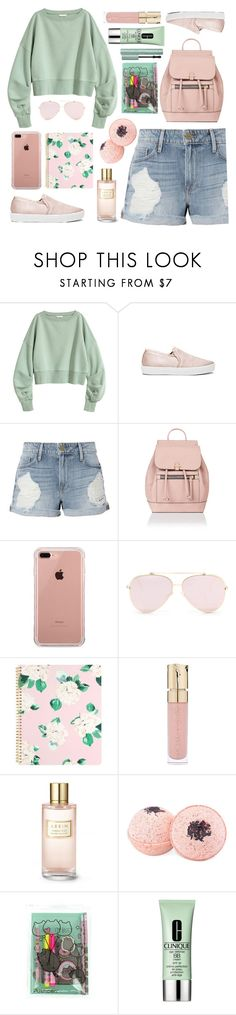 """""""CATCAT."""" by valemx ❤ liked on Polyvore featuring Joie, Frame, Accessorize, Belkin, ban.do, Smith & Cult, Estée Lauder, Clinique and Too Faced Cosmetics"""