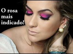 Maquiagem rosa por Alice Salazar