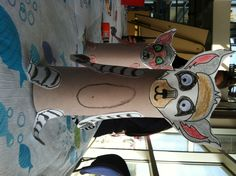 Lemur craft we are doing at the Aquarium!