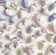 Shaun Teo creations unicorn treats