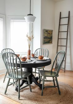 » MY DIY | Thrifted Dining Table Chairs Makeover