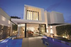 Perfect Modern Townhouse by Martin Friedrich Architects