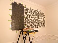 Get the DIY deets on creating an inspired wall on the cheap.