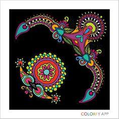 Colorful app.