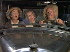 The Baldwin ladies and Zeb take a trip