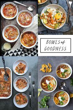 Schüsseln Güte!  Eine Zusammenfassung von deftig, tröstlich Essen am besten aus einer Schüssel gegessen.  Mehr über Shutterbean.com