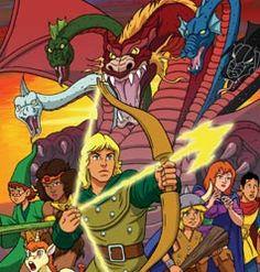 Dungeons & Dragons. 80s cartoon