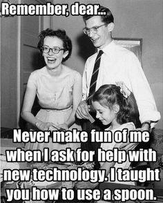 Always respect your parents