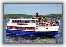 The Bennie Alice will take you to Cabbage Island for an authentic Downeast Clam Bake!