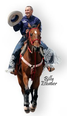 March 21st, 2012 |  COLORADO SPRINGS, Colo. – The Etbauer name, legend in the cowboy sport for a generation, will be stamped in bronze this July when five-time World Champion Saddle Bronc Rider Billy Etbauer and two-time World Champion Robert Etbauer are inducted into the ProRodeo Hall of Fame, heading a class of seven.