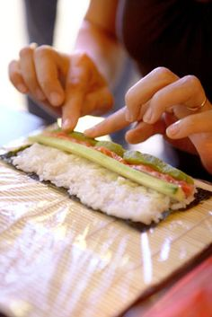 Learn how to make #sushi at home!
