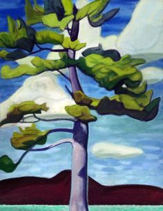 Harris s Jack Pine Tree Lake Superior Ontario Canada Landscape Orenco Originals Counted Cross Stitch Pattern Valentine SALE Lawren Harris s Jack Pine Tree Lake Canada Landscape, Landscape Art, Landscape Paintings, Landscapes, Watercolor Landscape, Abstract Paintings, Group Of Seven Artists, Group Of Seven Paintings, Canadian Painters