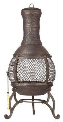 Kay Home 30075 Corona Outdoor Fireplace | Free Shipping