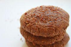 Pumpkin Pie Sugar Cookies (Paleo)
