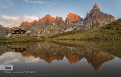 Pale di San Martino by mattiadattaro  alps baita segantini d750 dolomites dolomiti italia italy lake landscape mountain mountains nikon ni