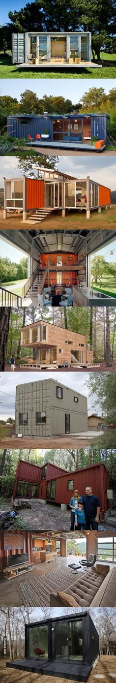 Shipping container homes. Too fresh #shipping#container#modern#architecture
