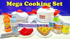 Mega Cooking Playset Toys ❤ My Sweet Home With Organic Food Tomato Soup ...
