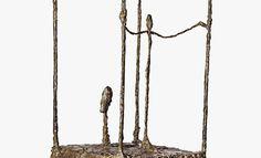 Alberto Giacometti, The Cage (first version),1950, Klewan collection, Munich © Klewan collection, Munich © Alberto Giacometti Estate/Bildrecht, Wien 2014