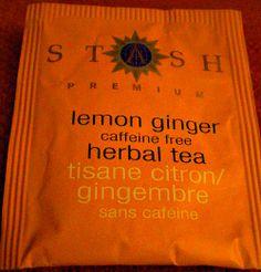 Stash.com  My favorite tea, lemon ginger.  Refreshing and a good lift for the senses.