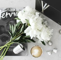 T.D.C | My Instagram: Nespresso Limited Editions + Peonies