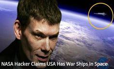 Disso Voce Sabia?: NASA - Hacker Gary McKinnon faz Declarações - EUA tem Naves de Guerra no Espaço!!