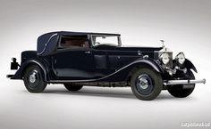 1933 Rolls-Royce Phantom II Continental Sedanca Coupe