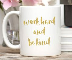 Building My Dream Mug / Entrepreneur Gift / Network Marketing Gift / Downline Gift / Entrepreneur Mug / Dishwasher Safe Mug Who Is An Entrepreneur, Gold Foil Print, Own Quotes, Custom Mugs, Biodegradable Products, Work Hard, Gift Wrapping, Arrow, Etsy