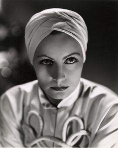 Greta Garbo, by Clarence Sinclair Bull for THE PAINTED VEIL (1934)