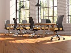 We acknowledge creating a determined enactment environment leads to more productive and creative thinking. Now that youve selected your room reservation system, see what else you can realize to create your office smart. Conference Room Chairs, Conference Table, Positive Work Environment, Room Reservation, Creative Thinking, Custom Wood, Office Interiors, Living Room Chairs, Office Furniture