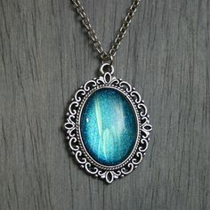 Endless Deep Cameo Necklace by moonlightmine on Etsy