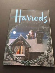 Christmas-Catalogs-Harrods-Magazine-1985-Liberty-1983-1984