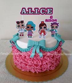 new Ideas for birthday surprise ideas funny Doll Birthday Cake, Funny Birthday Cakes, 6th Birthday Parties, Funny Cake, 7th Birthday, Birthday Ideas, Surprise Cake, Surprise Birthday, Surprise Ideas