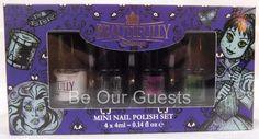 Beautifully Disney Mini Nail Polish Set Haunted Mansion Collection New Sealed