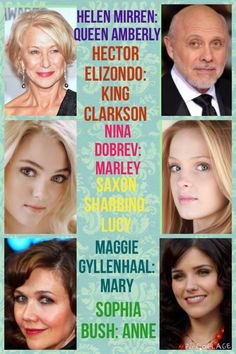 My Selection Dream Cast!