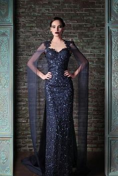 Rami Kadi - 21 Breathtaking Couture Gowns Fit For An Ice Queen, should have been on the Evil Queen list. Lana Parilla would look stunning in this gown.